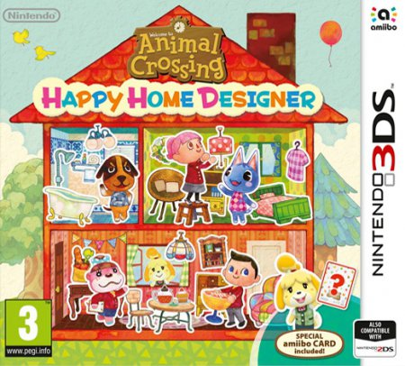 Animal Crossing Happy Home Designer Bergsala UK4 (inkl. Speciellt Amiibo Kort)