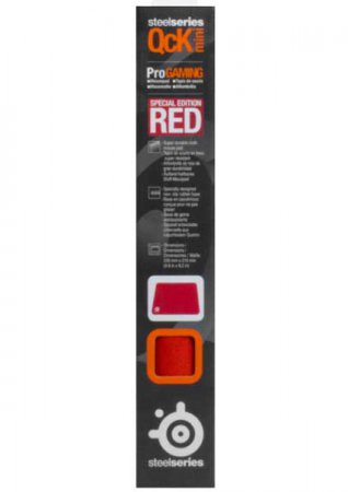 SteelSeries QcK Mini Special Edition Red Musmatta