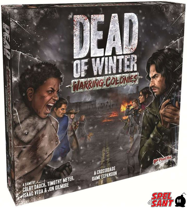 Dead of Winter Warring Colonies Expansion Board Game Brand New