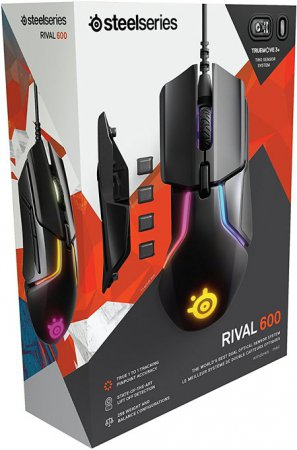 Steelseries Rival 600 Svart