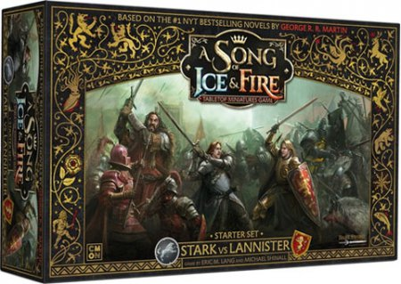 A Song of Ice and Fire Tabletop Miniatures Game Starter Set Stark & Lannisters