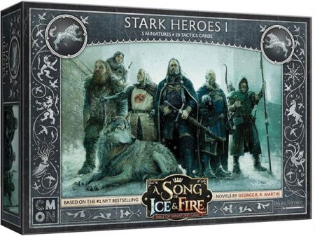 A Song of Ice and Fire Tabletop Miniatures Game Stark Heroes I