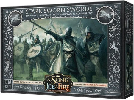 A Song of Ice and Fire Tabletop Miniatures Game Stark Sworn Swords