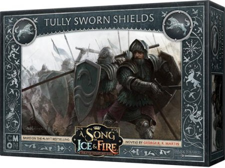 A Song of Ice and Fire Tabletop Miniatures Game Tully Sworn Shields
