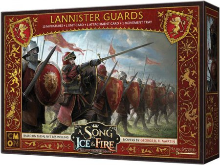 A Song of Ice and Fire Tabletop Miniatures Game Lannister Guardsmen