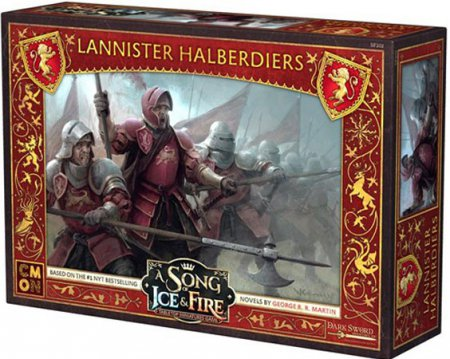 A Song of Ice and Fire Tabletop Miniatures Game Lannister Halberdiers