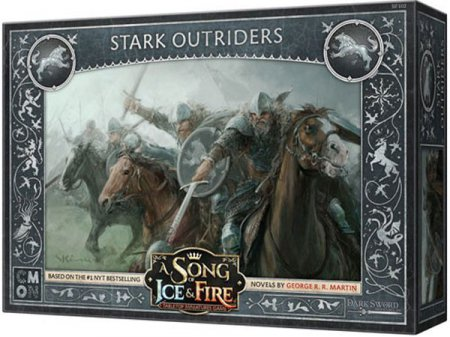 A Song of Ice and Fire Tabletop Miniatures Game Stark Outriders