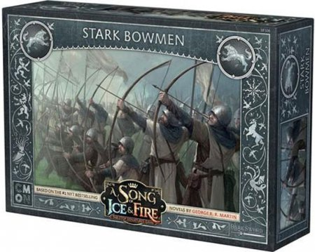 A Song of Ice and Fire Tabletop Miniatures Game Stark Bowmen