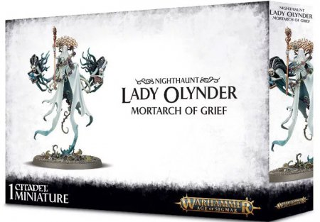 Warhammer Age of Sigmar Lady Olynder Mortarch of Grief