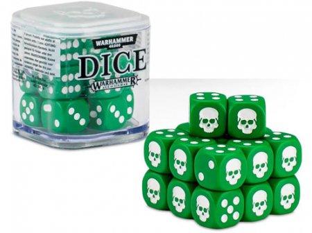 Games Workshop Dice Cube Grön 20st