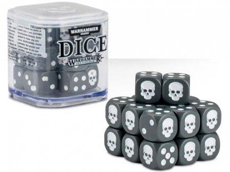 Games Workshop Dice Cube Grå 20st