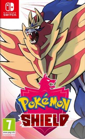 Pokemon Shield (inkl. Steelbook & Bergsala UK4)