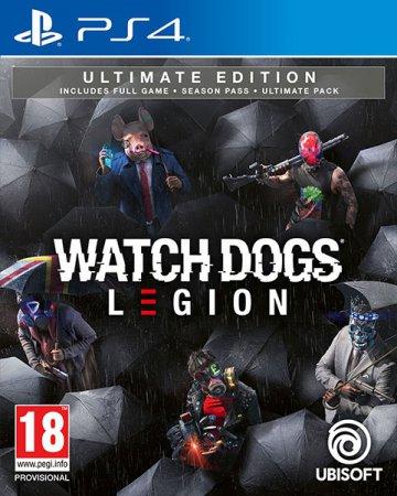 Watch Dogs Legion Ultimate Edition (inkl. Förbokningserbjudande)
