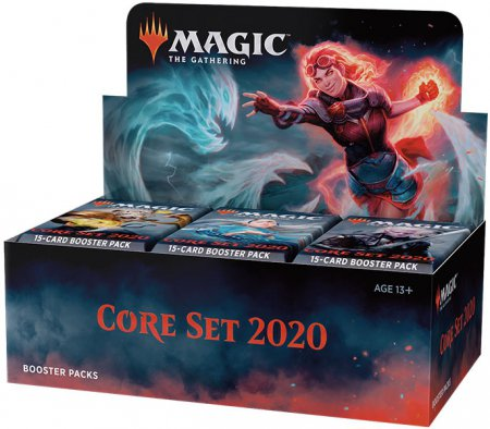 Magic Core Set 2020 Booster Display
