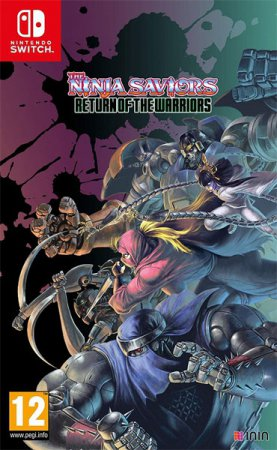 The Ninja Saviors Return of Warriors (inkl. Förbokningserbjudande)