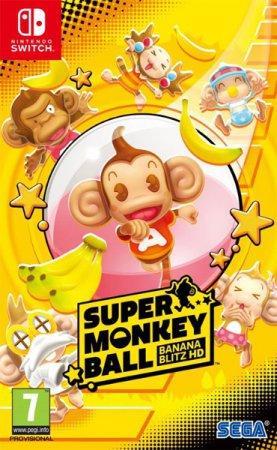 Super Monkey Ball Banana Blitz HD (inkl. Klistermärken)