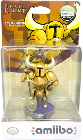 Nintendo Amiibo Shovel Knight Collection (Treasure Trove Gold)