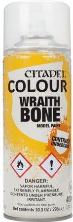 Warhammer Citadel Wraith Bone Contrast Undercoat Spray Paint