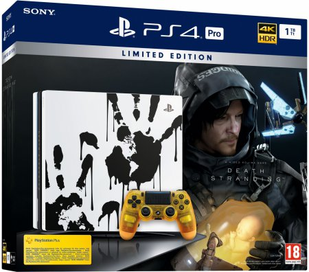 Playstation 4 Pro 1TB Limited Ed. (inkl. Death Stranding)