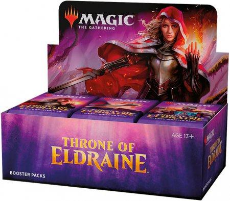 Magic Throne of Eldraine Booster Display
