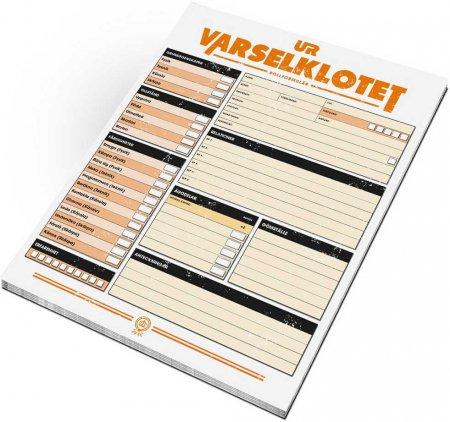 Ur Varselklotet - Rollformulär