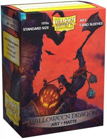 Dragon Shield Protective Art Sleeves Standard Halloween Dragon 100 Pack