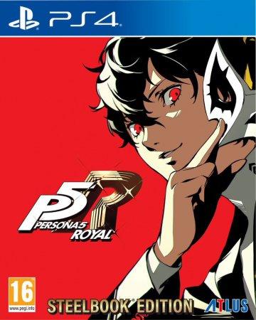 Persona 5 Royal Steelbook Launch Edition (inkl. Persona 5 Joker Mask Pin)
