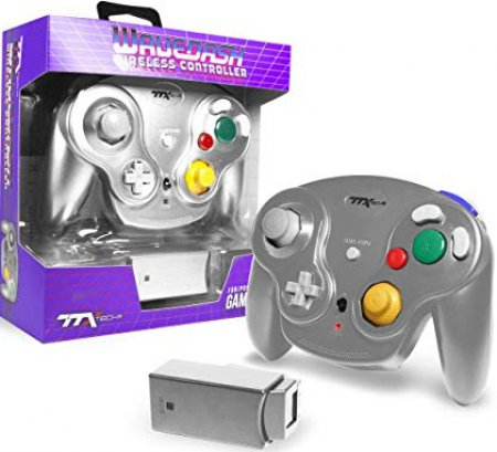 TTX Tech Wavedash Wireless Gamecube Controller Silver