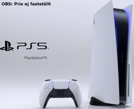 Playstation 5 (Pris ej fastställt)
