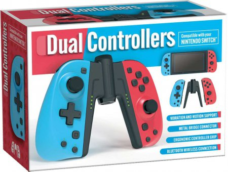 C25 Dual Controllers compatible with Nintendo Switch