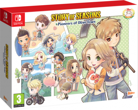 Story of Seasons Pioneers of Olive Town Deluxe Edition (inkl. Buffy Plushie)