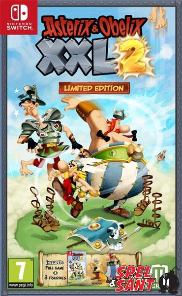 Asterix Obelix Xxl 2 Limited Edition Spel Sant