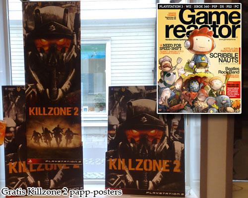 88f66d4db38c Killzone 2 posters och nya gamereactor finns i butiken