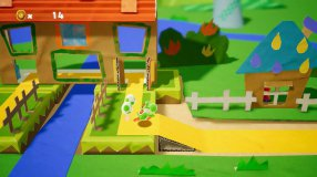 Screenshot på Yoshis Crafted World (Bergsala UK4)