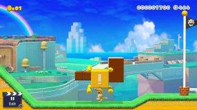 Screenshot på Super Mario Maker 2 (Bergsala UK4)