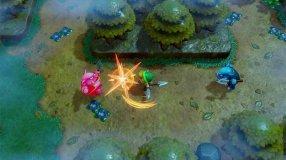 Screenshot på The Legend of Zelda Links Awakening (Bergsala UK4)