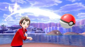 Screenshot på Pokemon Shield (inkl. Steelbook & Bergsala UK4)