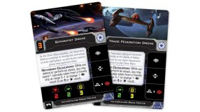 Screenshot på Star Wars X-Wing Second Edition Vulture-Class Droid Fighter Expansion