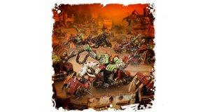 Screenshot på Warhammer 40K Ork Warbiker Mob
