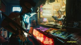 Screenshot på Cyberpunk 2077 Collectors Edition