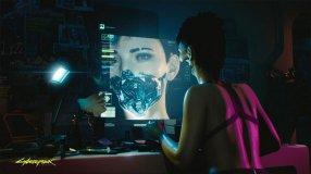 Screenshot på Cyberpunk 2077 Collectors Edition