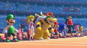 Screenshot på Mario & Sonic at the Olympic Games Tokyo 2020