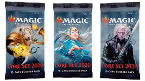 Screenshot på Magic Core Set 2020 Booster Display