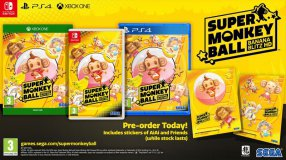 Screenshot på Super Monkey Ball Banana Blitz HD (inkl. Klistermärken)
