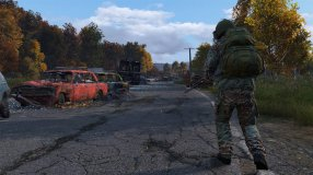 Screenshot på DayZ