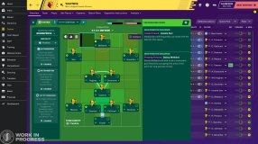 Screenshot på Football Manager 2020