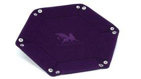Screenshot på Greifenfels Hexagon Dice Tray (Purple)