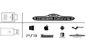 Screenshot på Retro-Bit SegaMega Drive8Button 2.8GHz WirelessController ClearBluewithReceivers