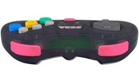 Screenshot på Retro-Bit Sega Saturn 8 Button Wireless Controller Slate Grey with Receivers