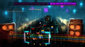 Screenshot på RockSmith 2014 Edition (inkl. Real Tone Cable)